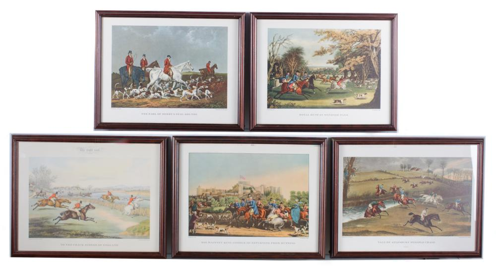 English Hunting Prints