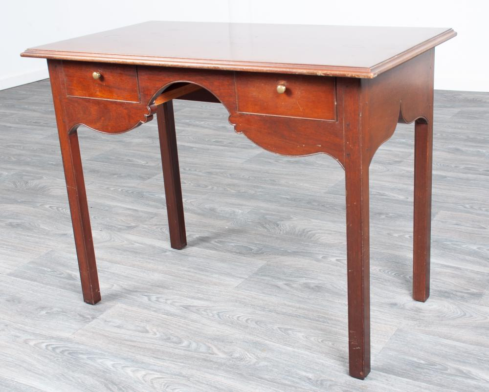 C.W. Kittinger Mahogany Writing Desk