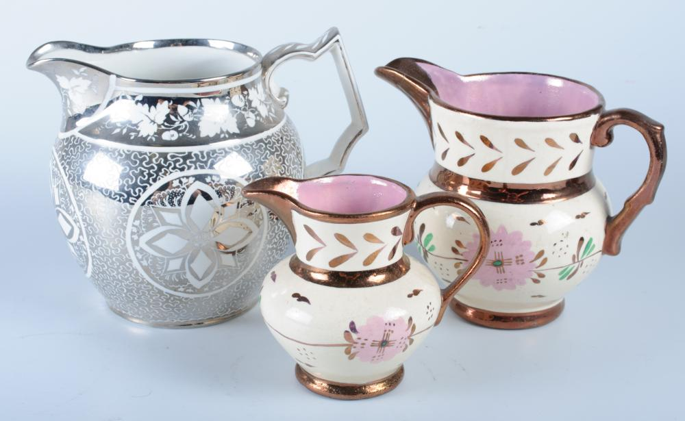 Lusterware Pitchers