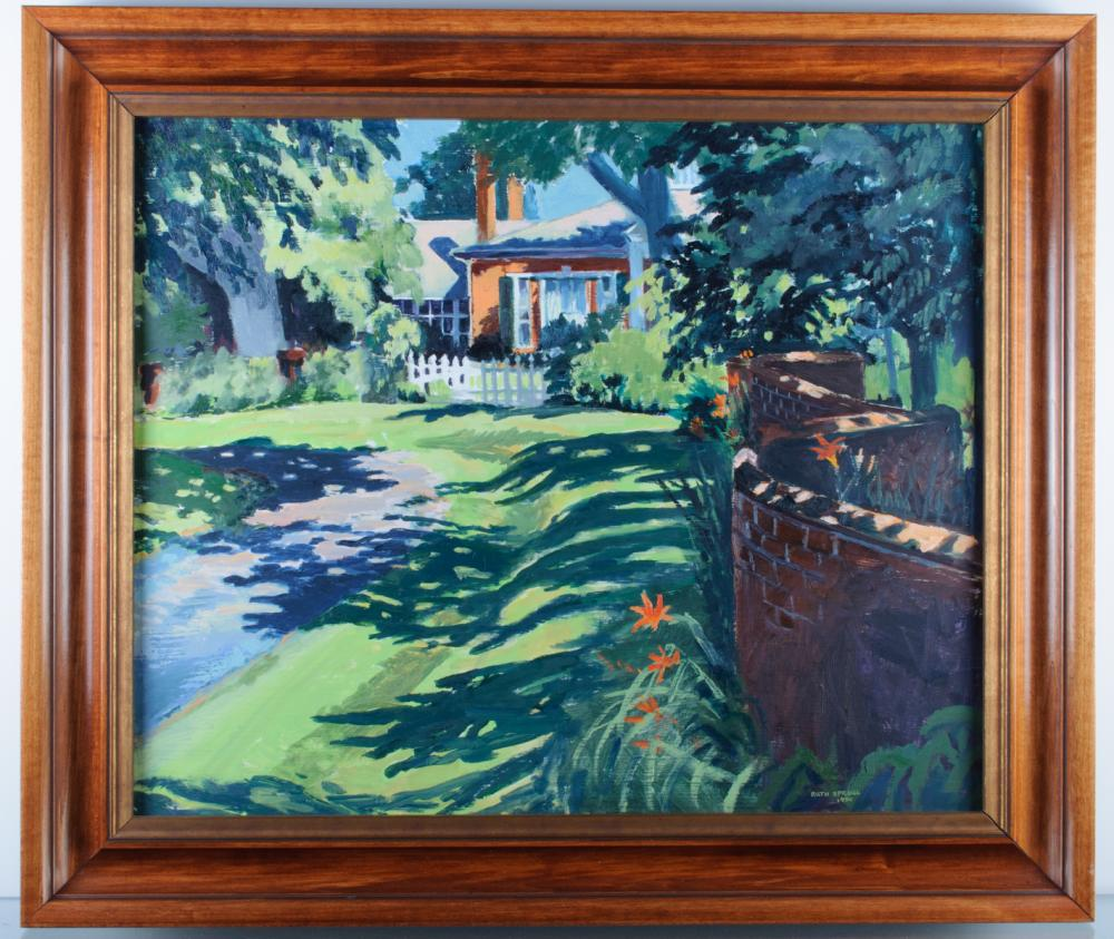 Ruth Sproul Folly Farm Staunton, VA Oil On Board