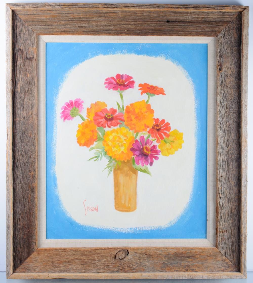 Lucille Walters Sisson Floral Still Life