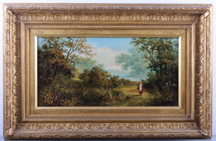 Roberto A. K. Marshall Landscape Oil On Canvas