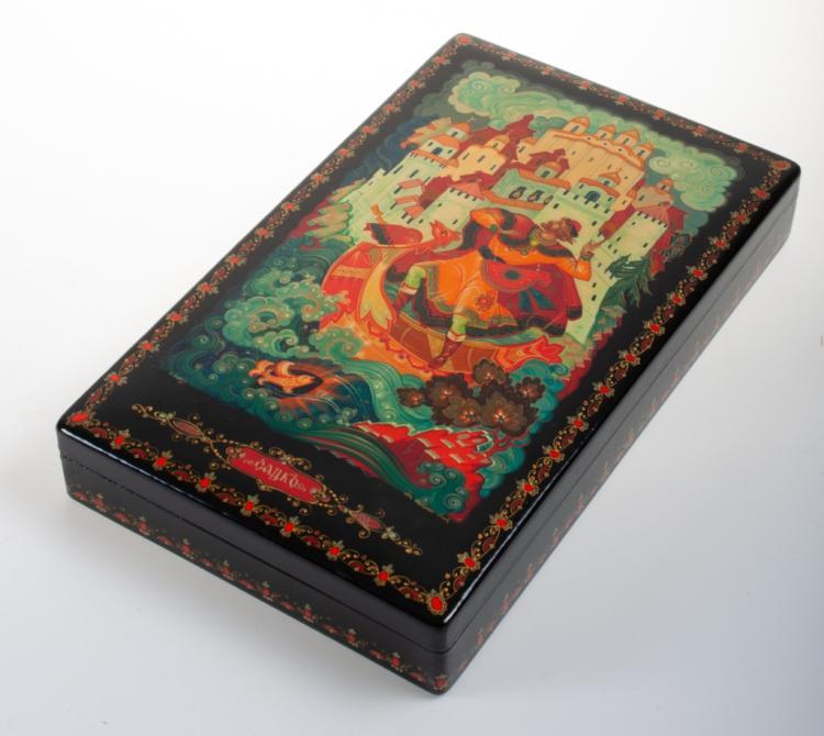 Kholui Russian Lacquer Box