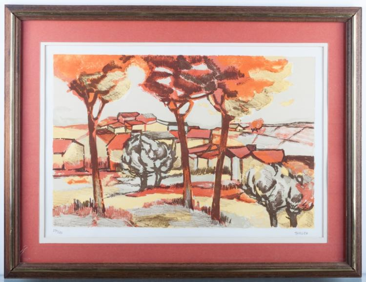 Eliane Thiollier Signed #234/275 Lithograph