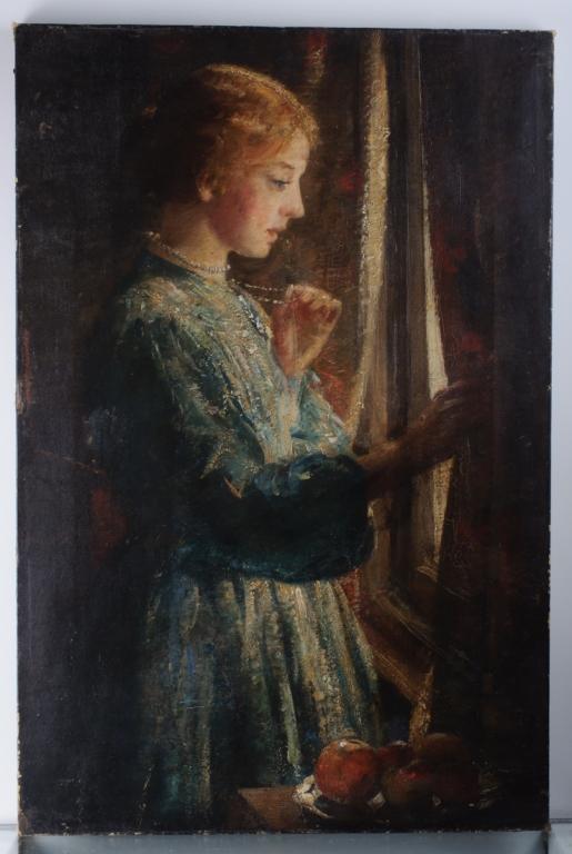 "David Thomas Muirhead ""Waiting at the Window"""