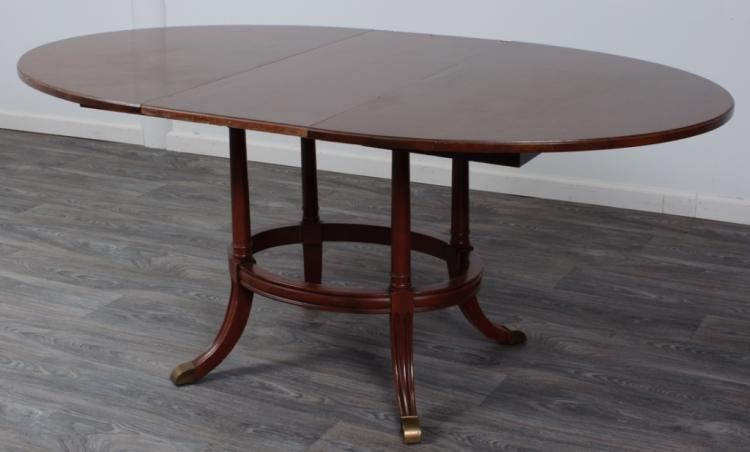 Mount Airy Chair Company Oval Dining Table