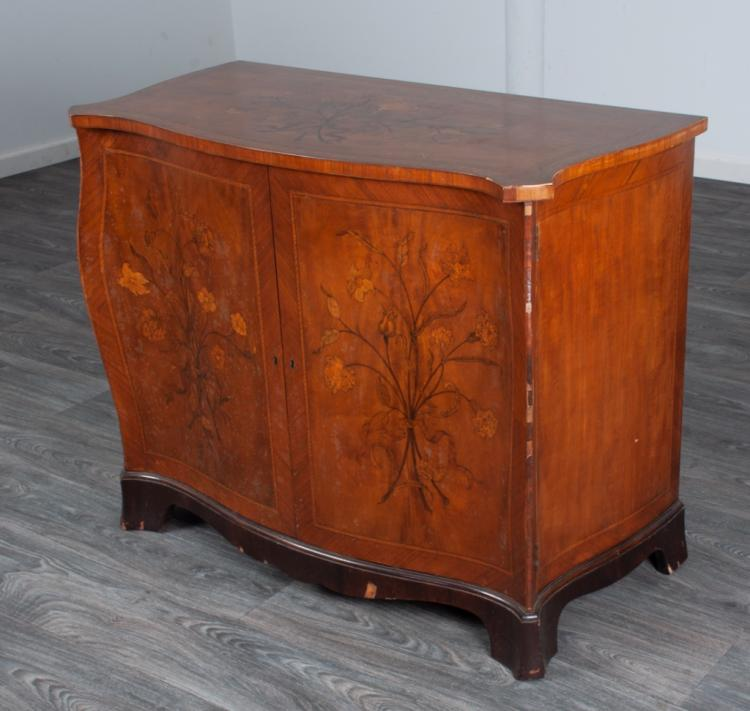 Italian Marquetry Chest of Drawers Circa 20thC