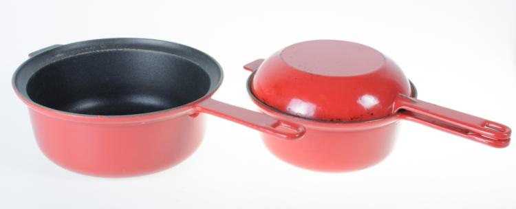 Le Creuset Sauce Pan & Two-In-One Pan