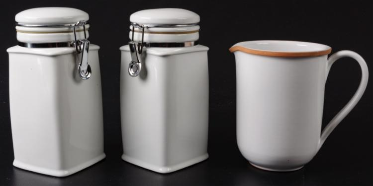 Dansk Kitchen Storage Containers & Pottery Pitcher