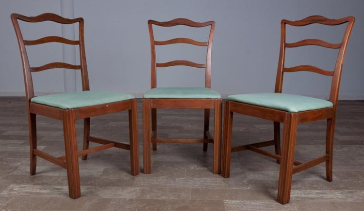 Ribbon Back Chairs Trio