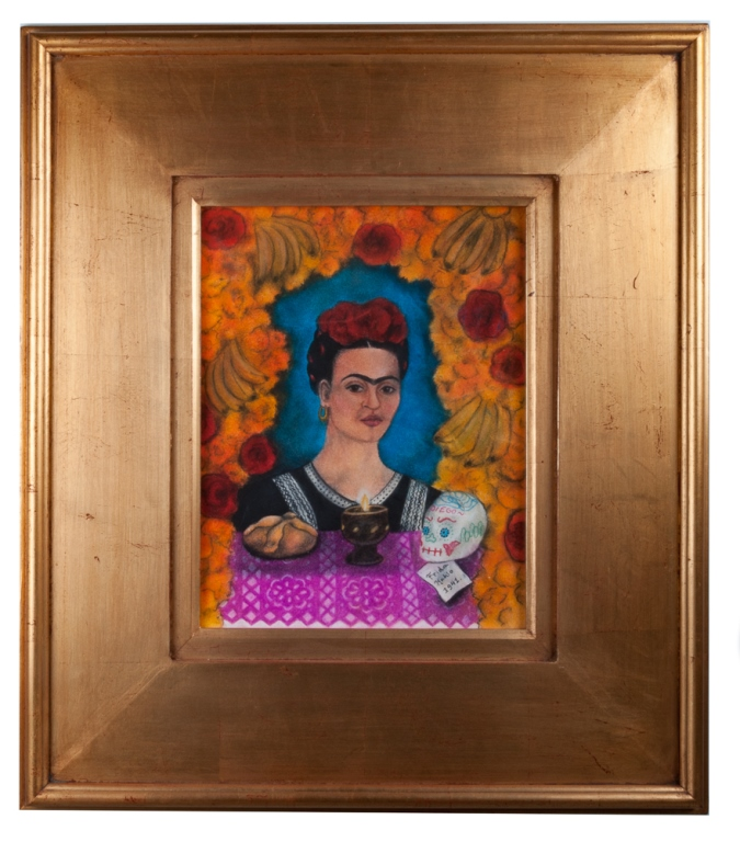 Frida Kahlo Day of the Dead Self-Portrait