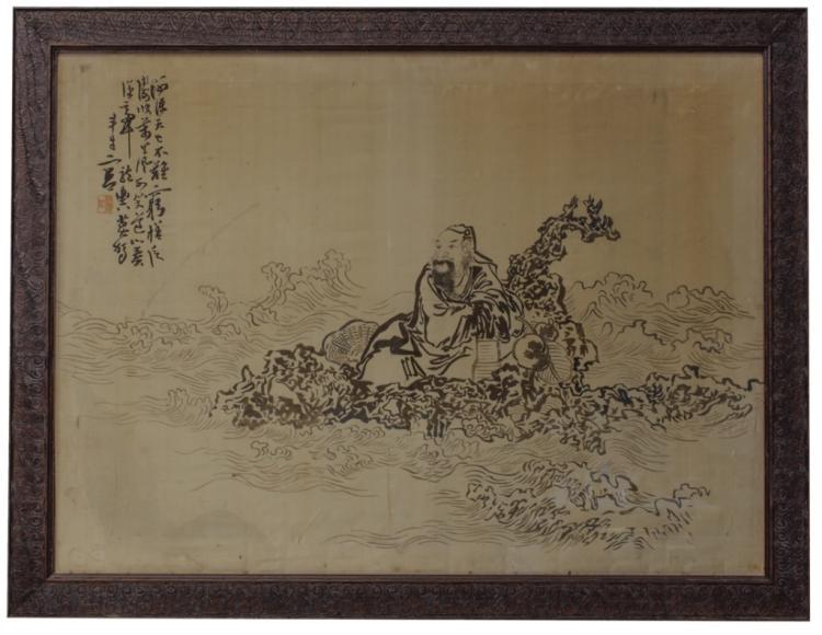 Xiang Hunan Silk Embroidery 19th C