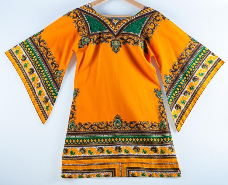 African / Kenyan Traditional Print Dashiki Dress