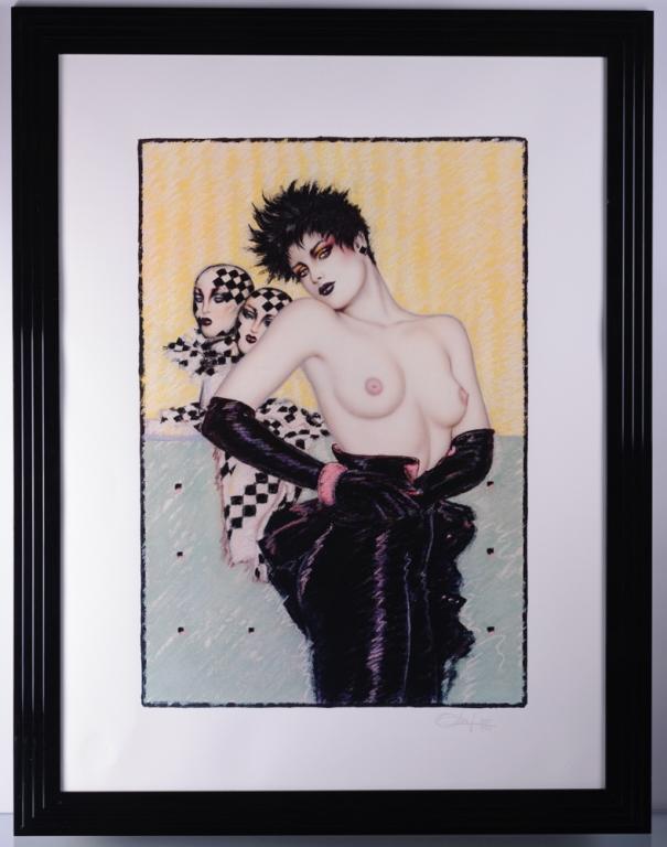 Olivia De Berardinis Lithograph #351/500