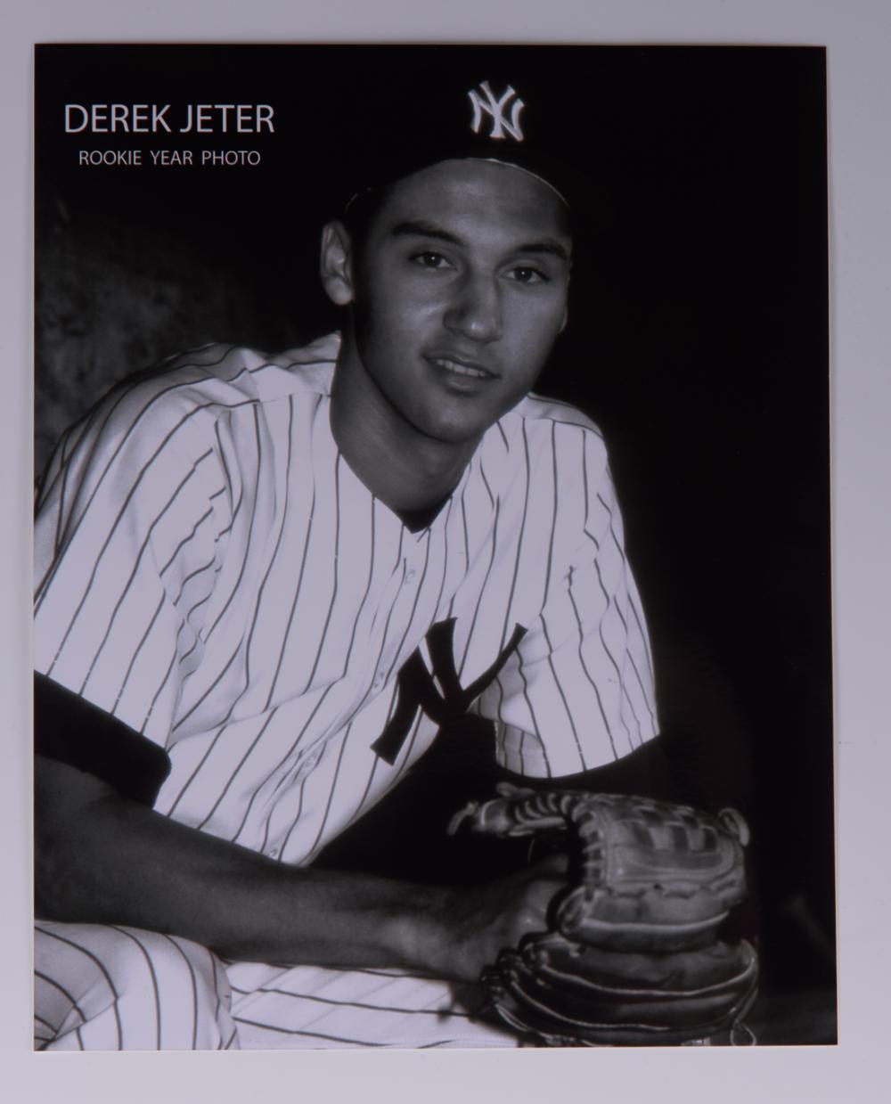 Derek Jeter Rookie Card Photograph Set