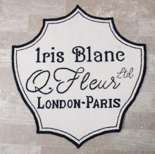 Iris Blanc, Q. Fleur, London-Paris Rug