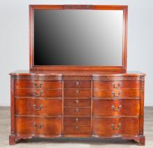 Kent Coffey 1940?s Mahogany Dresser w/ Mirror