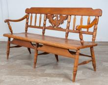 Windsor Bench, Cushman Colonial Creations