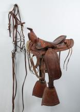 Child's Western Saddle & Fort Recovery Accessories