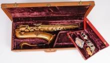 The Buescher True Tone Low Pitch Tenor Saxophone