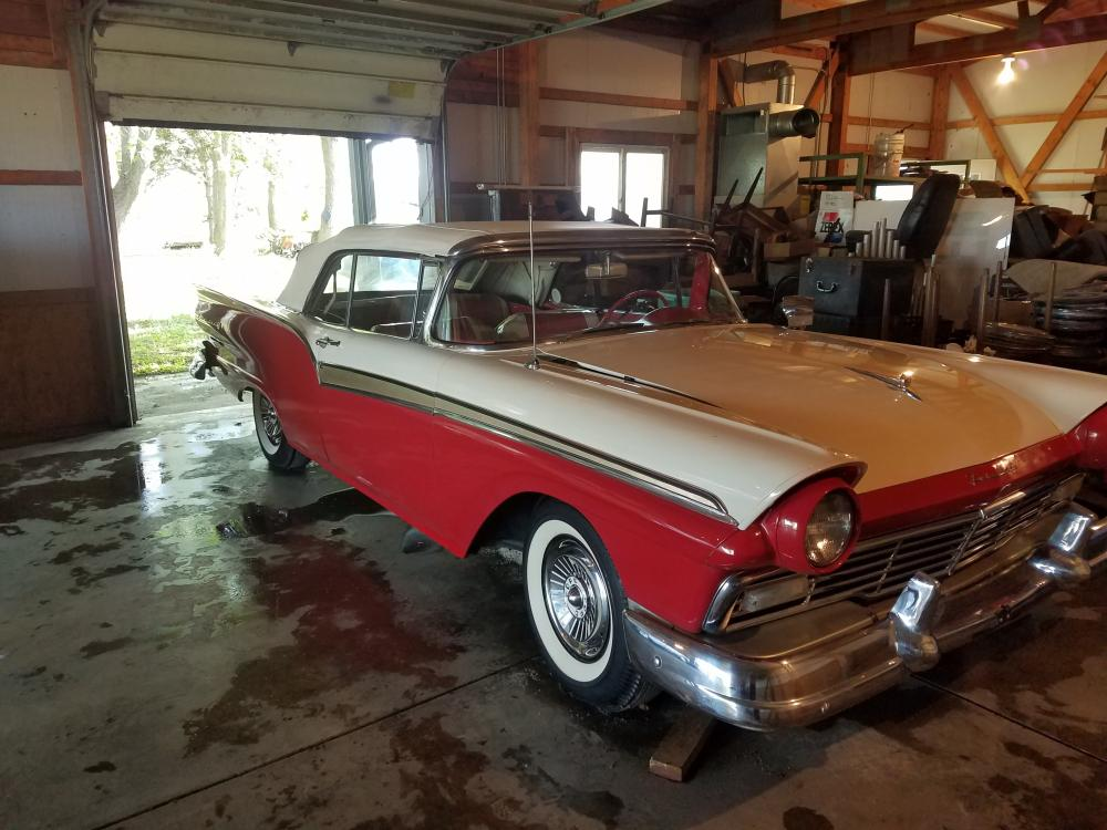 1957 Ford Fairlane 500 Convertible- 1 Owner