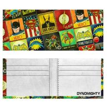 NEW JUSTICE LEAGUE DYNOMIGHTY BILLFOLD WALLET