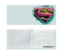 NEW SUPERMAN DYNOMIGHTY BILLFOLD WALLET