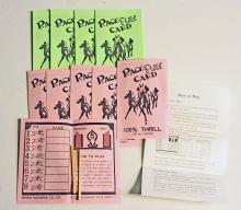VINTAGE RACE CARD GAME - NEVER USED