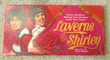 VINTAGE PB LAVERNE AND SHIRLEY BOARD GAME IN ORIG. BOX