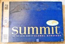 VINTAGE MB SUMMIT GLOBAL STRATEGY BOARD GAME IN ORIG. BOX