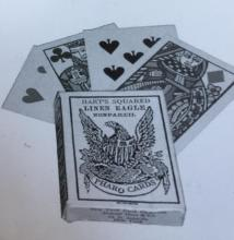 LOT OF 3 PACKS OF OLD WEST PHARO POKER CARDS