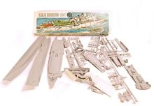 VINTAGE AIRFIX H.M.S. FEARLESS SHIP MODEL IN ORIG. BOX