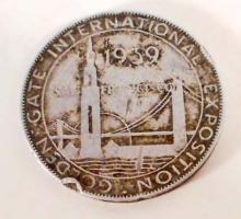 1939 UNION PACIFIC RAILROAD GOLDEN GATE INTERNATIONAL EXPOSITION TOKEN