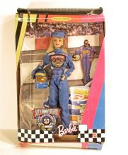 VINTAGE 1998 50TH ANNIVERSARY NASCAR BARBIE DOLL COLLECTOR EDITION