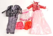 LOT OF VINTAGE BARBIE DOLL CLOTHES