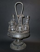 ANTIQUE VICTORIAN ERA CRUET SET
