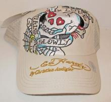 BRAND NEW ED HARDY BASEBALL CAP - ADJUSTABLE