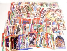 LARGE LOT OF UNSEARCHED BASEBALL & FOOTBALL CARDS