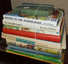 Vintage annuals and other children's books