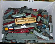 Lone Star 000 gauge extensive railway set, inc. engines, rolling stock, track and platform