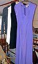 Jean Muir black mini cocktail dress, an Ozzie