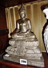 Thai silver gilt Buddha
