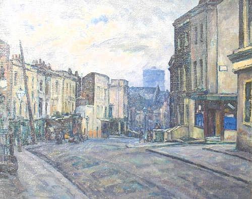 WALTER DURAC BARNETT (1876-1965) Down Portobello