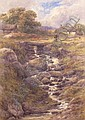 JOHN STEEPLE. A welsh Landscape with a Figure on a, John Steeple, Click for value