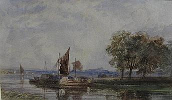 ATTRIBUTED TO SAMUEL AUSTIN (1796-1834) A Wherry