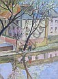 NINA HAMNETT (1890-1956) Canal signed Nina Hamnett, Nina Hamnett, Click for value