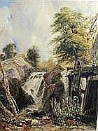 SAMUEL AUSTIN (1796-1834) A Child on a river bank