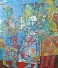 ANDREY BLUDOV (b.1962) Blue Figures indistinctly, Andrey Bludov, Click for value