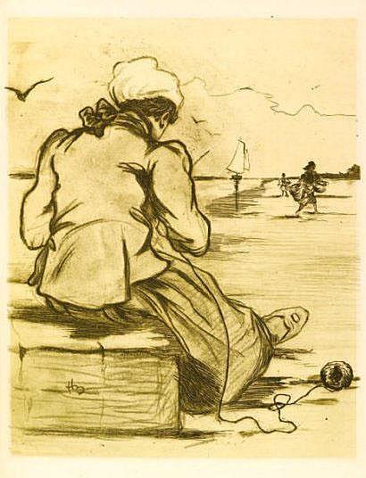 boutet (Henri). Les Femmes de la Mer. Cancalaises.