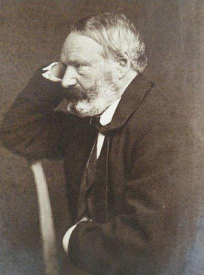 Edmond BACOT (1814-1875) Portrait de Victor Hugo,